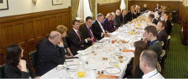 An APPG Debt meeting